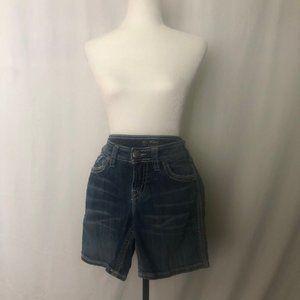Silver Suki Flap Shorts Size W28